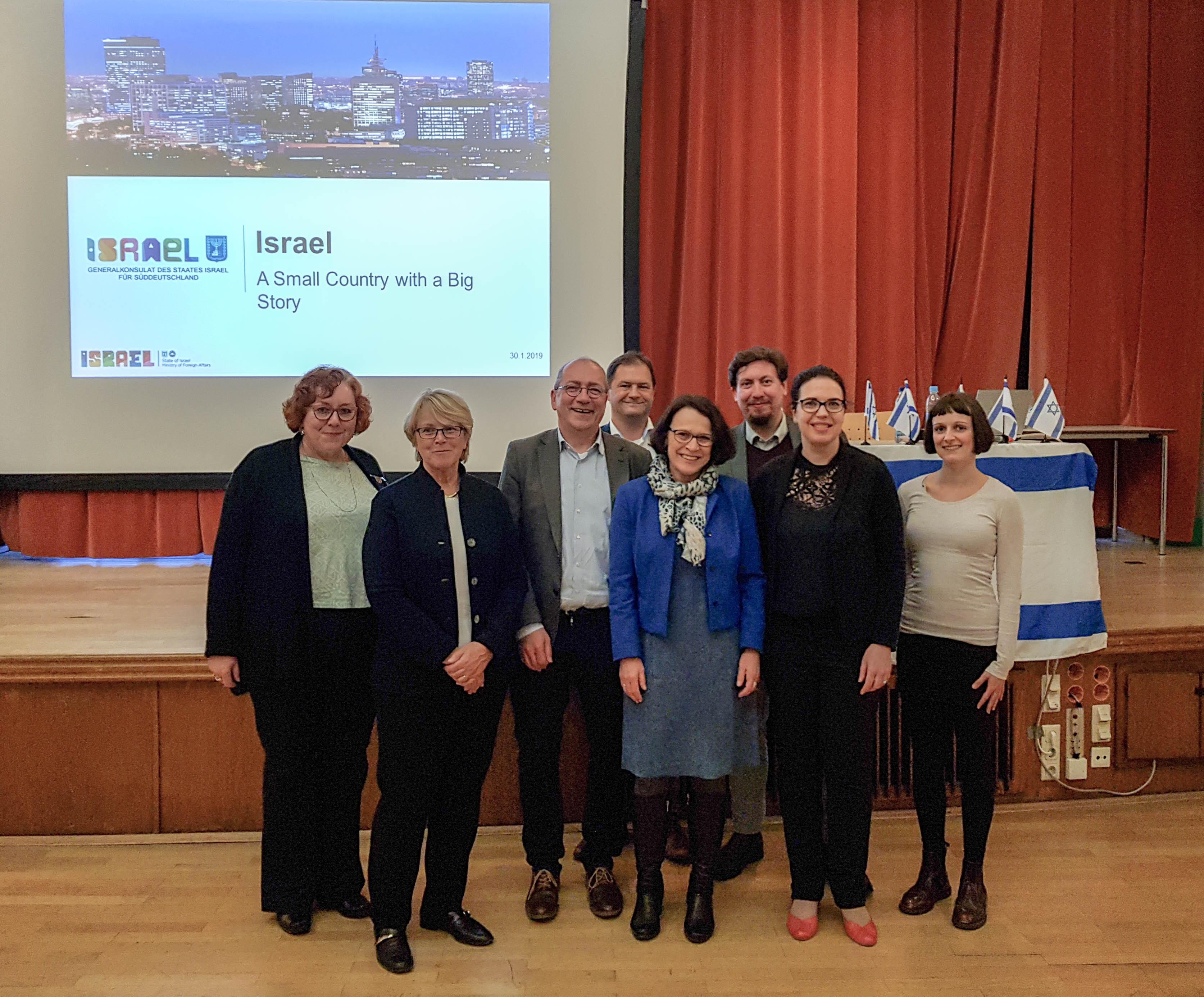 Deutsch-Israelische-Gesellschaft diskutiert mit Generalkonsulin