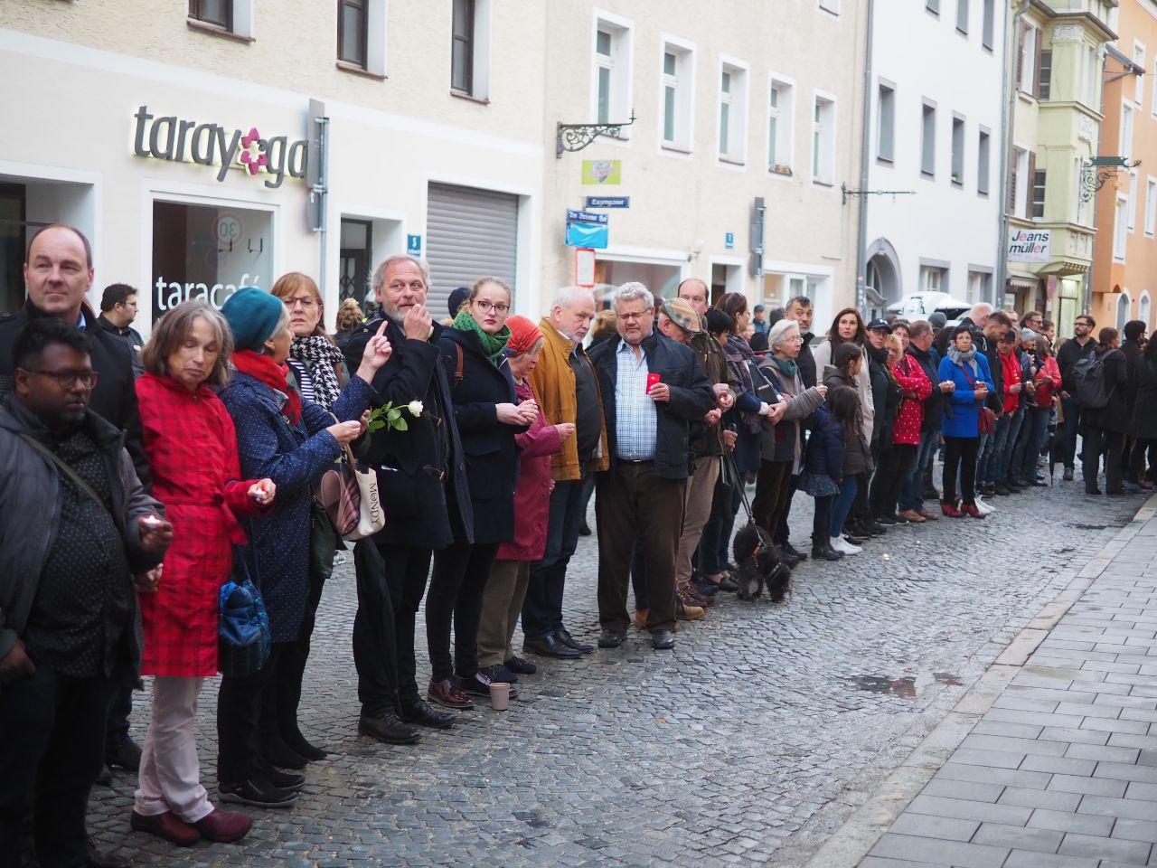 Wir stehen zusammen – Mahnwache gegen Antisemitismus